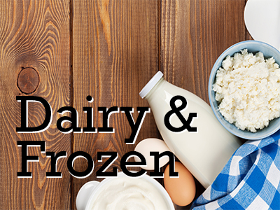 Diary and Frozen Products