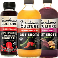 FARMHOUSE GUT PUNCH AND GUT SHOT  HARVEST HEALTH FOODS