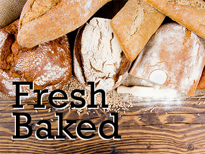 Fresh Baked Breads Gluten-Free Products
