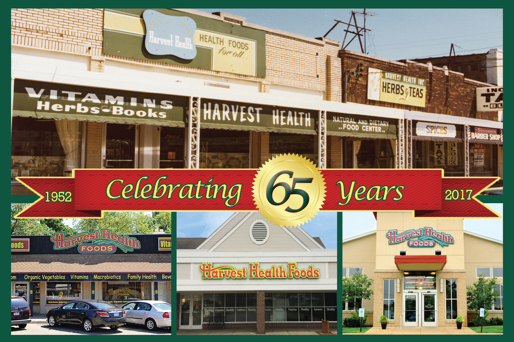 Harvest Health Food Celebrates 65 Years!