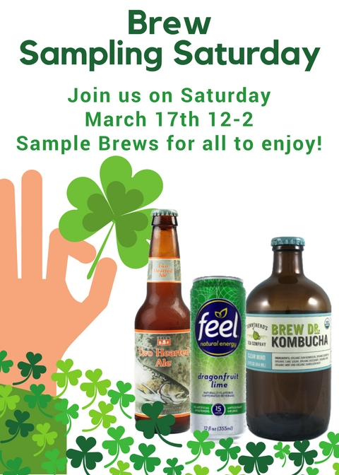 Brew Sampling Saturday