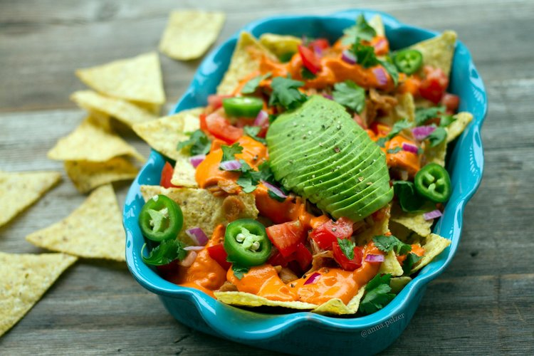 Vegan Nachos with Tess Challis