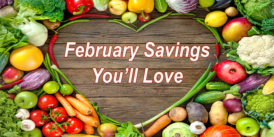 Harvest Health Foods February 2018 Sale Flyer