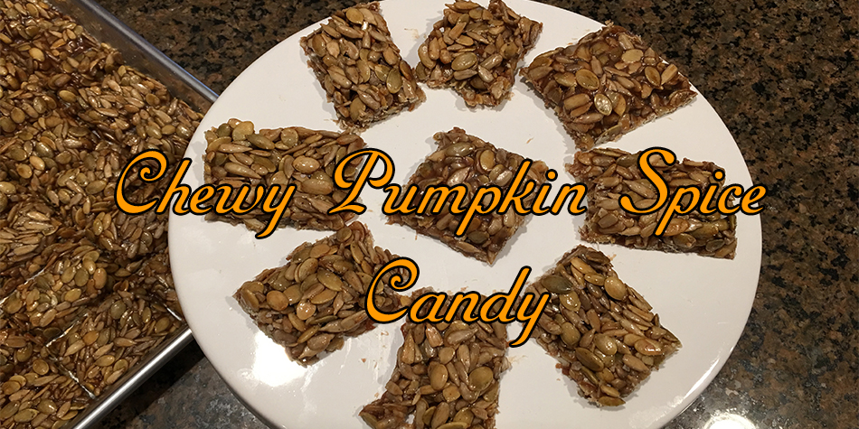 Chewy Pumpkin Seed Candy