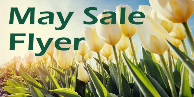 May Sale Flyer