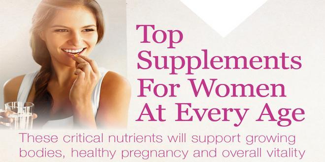 Top Supplements For Women