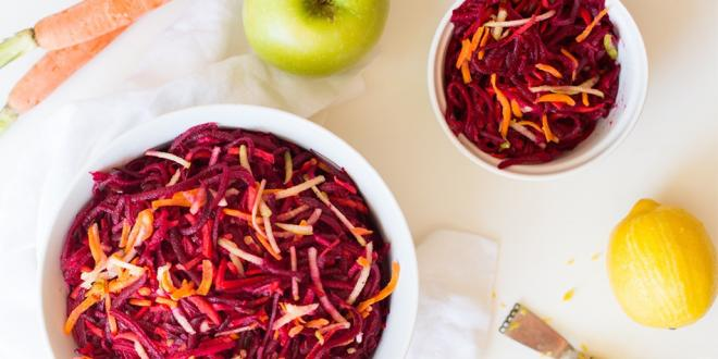 ABC Salad - Apple Beet and Carrot
