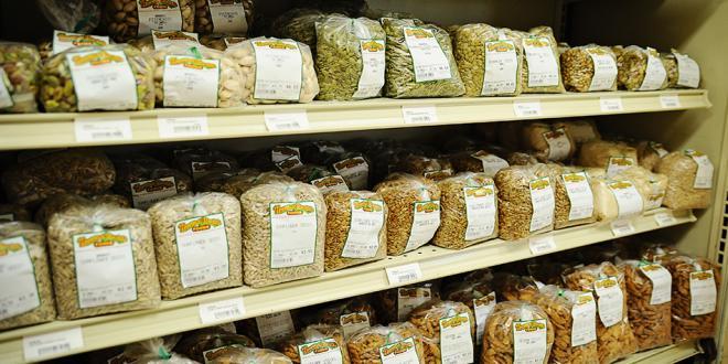 Bulk Food Seeds Grains at Harvest Health Foods