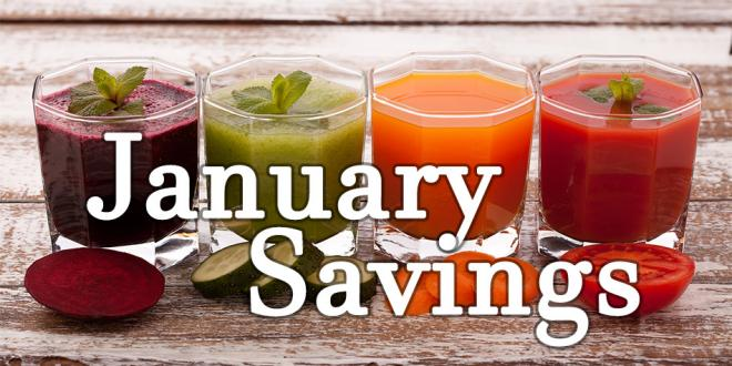 Harvest Health Foods January 2017 Sale Flyer