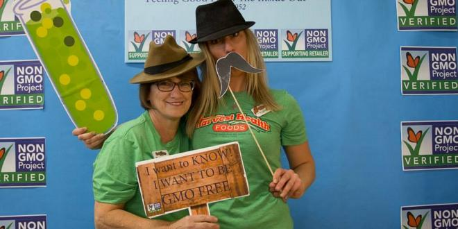 Non-GMO Photo Booth Pictures