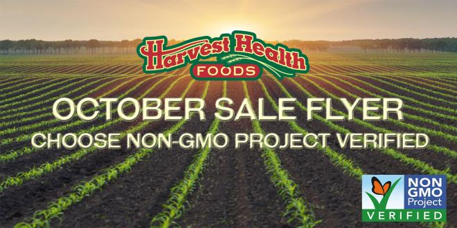 Harvest Health Foods October Sale Flyer