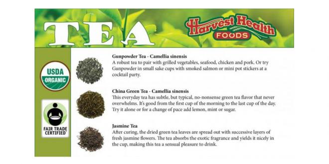 Organic Fair Trade Bulk Teas - Loose Leaf