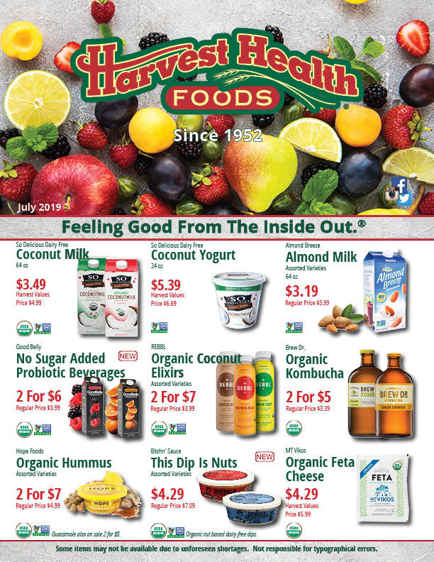 May 19 Harvest Health Foods Flyer
