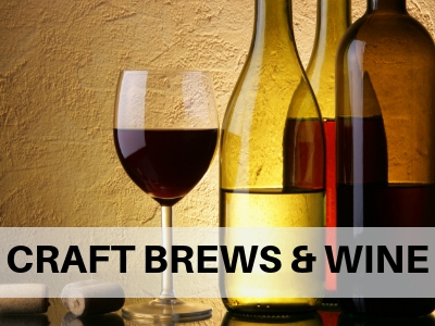 Craft Beers and Wine