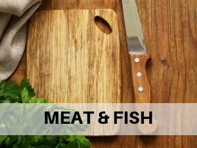 FRESH MEAT AND FISH - Organic, Local, Non-Gmo