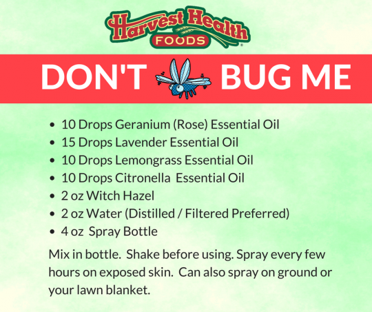 Don't Bug ME! Bug Essential Oil