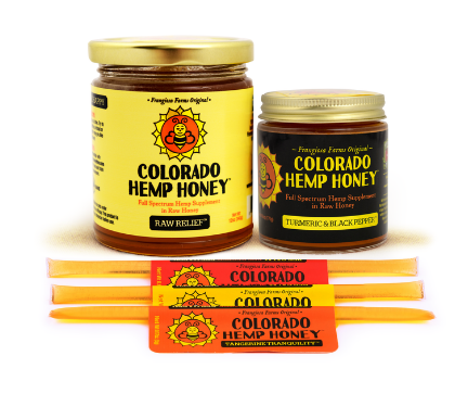 Colorado Hemp CBD Infused Honey