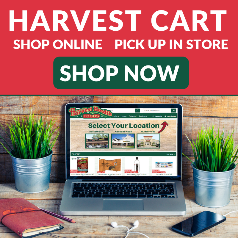 Shop Harvest Health Foods Online with Harvest Cart