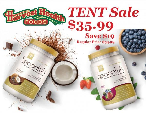 Solgar Tent Demo Sale! Today at Harvest Health Foods