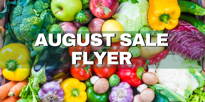 August 2019 Monthly Sale Features