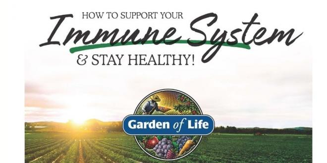 How to support your immune system by Garden of Life
