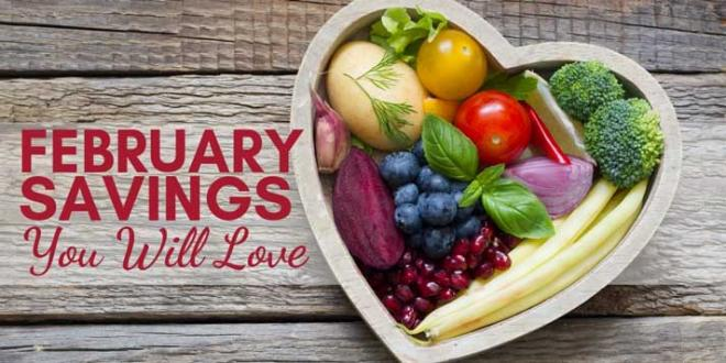 Harvest Health Foods February Savings you are going to love!