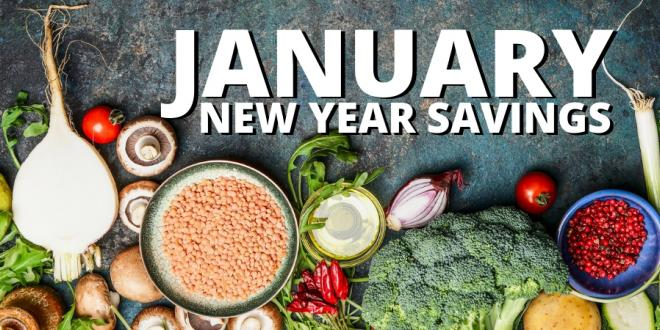 HARVEST HEALTH FOODS JANUARY 2019 SAVINGS