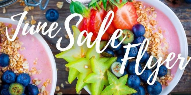Harvest Health Foods June Sale Flyer