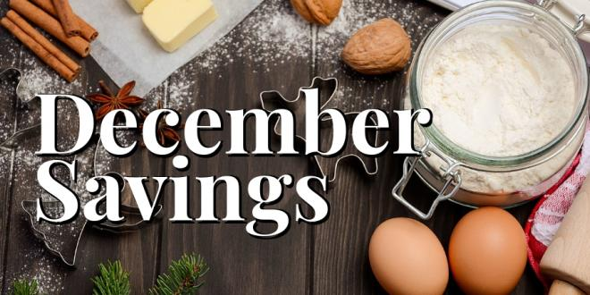 December Savings Flyer
