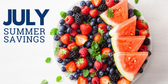 July Summer Savings at Harvest Health Foods