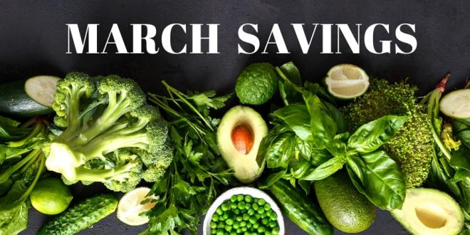 Harvest Health Foods March Savings For Your Healthy Life