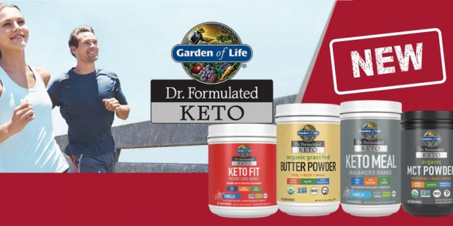 KETO FORMULAS BY GARDEN OF LIFE