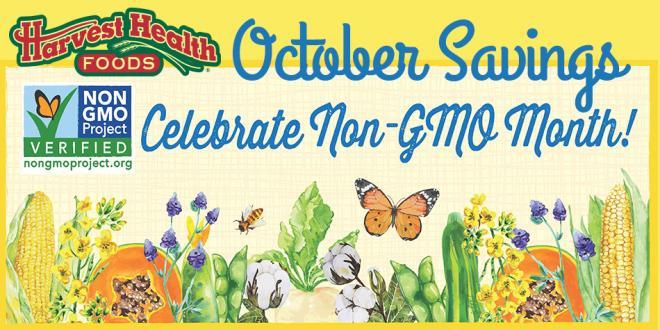 October NonGMO Month Sale Flyer