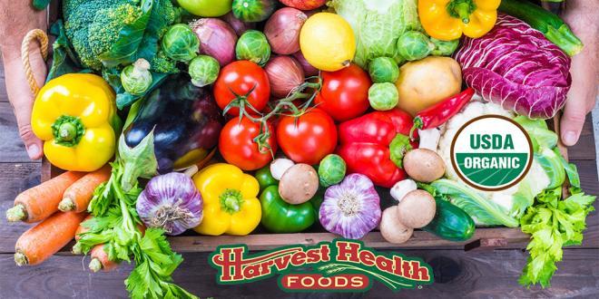 Harvest Health Foods Organic Produce