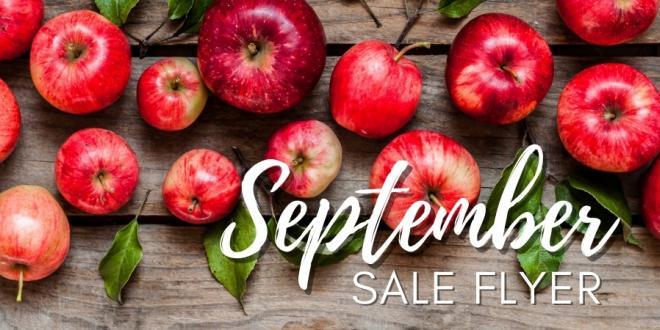 Harvest Health Foods September 2021 Sale Flyer