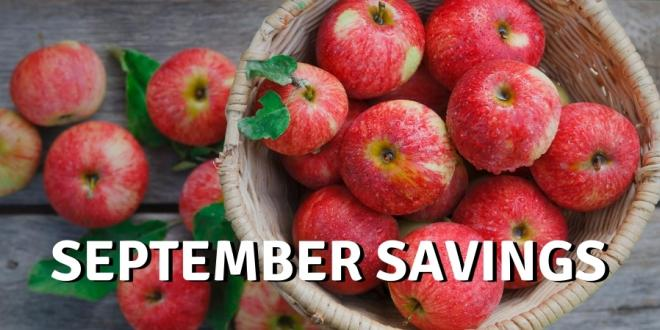 September Savings For Your Healthy Fall Season
