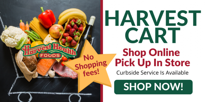 Shop online At Harvest Health Foods