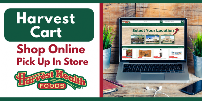 Shop On Line At Harvest Health Foods