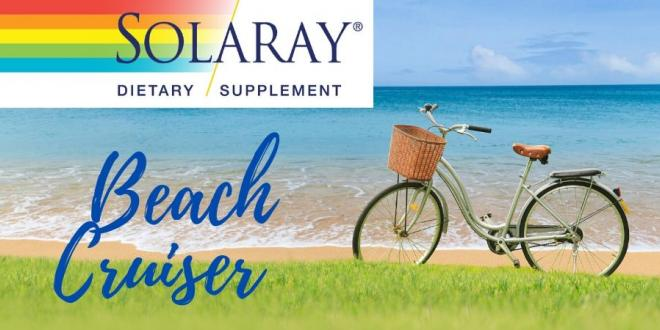 Solaray  40% Off Select Formulas and Beach Cruiser Bike Entry