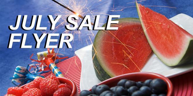 Harvest Health Foods July Sale Flyer 2016