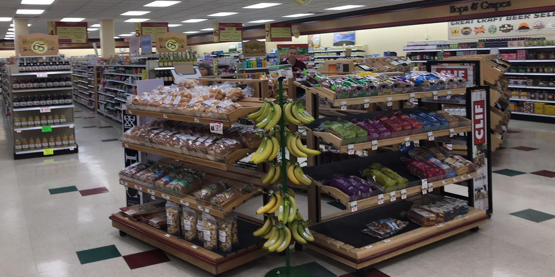 Harvest Health Foods Departments
