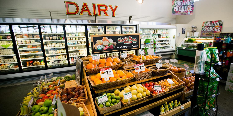 Organic Produce Certified Organic