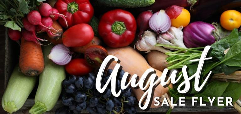 Shop Harvest Health Foods August Sale Flyer