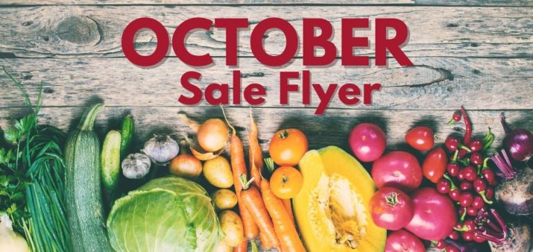 Harvest Your Savings In October