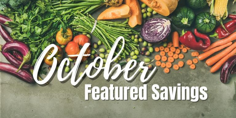 Harvest Health Foods October Sale Flyer