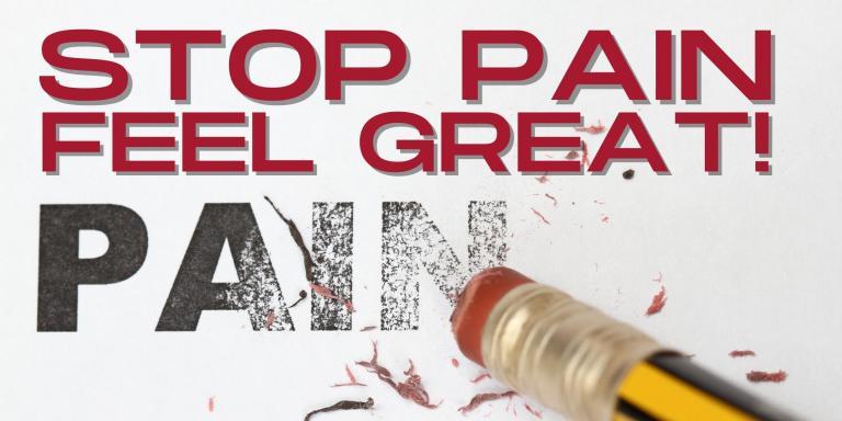 Stop Pain and Feel Great Consumer Seminar