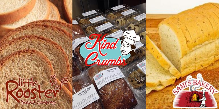 Fresh Baked Local Breads and Sweets
