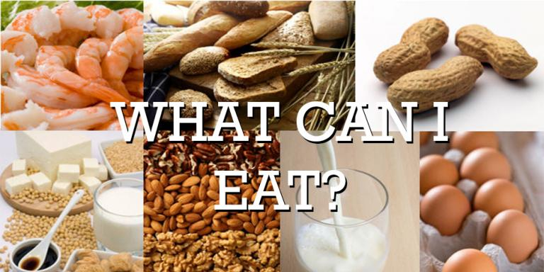 Food Allergies - What Can I eat? Alternatives