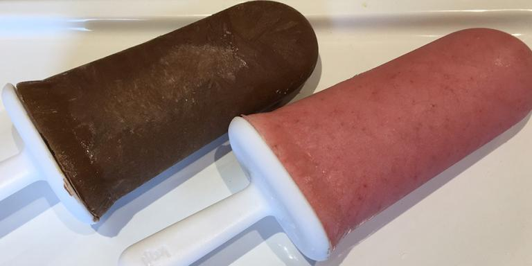Coconut Superfood Low Sugar Popsicles