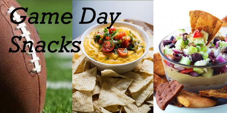 Game Day Healthy Snacks